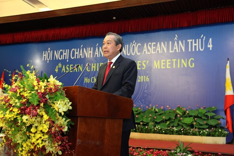 Khai mạc Hội nghị chánh án các nước ASEAN lần thứ 4 tại TP.HCM - ảnh 2