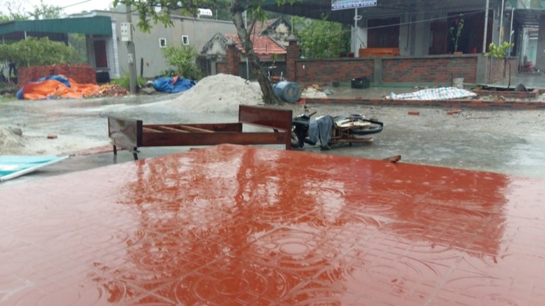 Quảng Ninh: Lốc xoáy bất ngờ tại đảo Minh Châu - ảnh 1