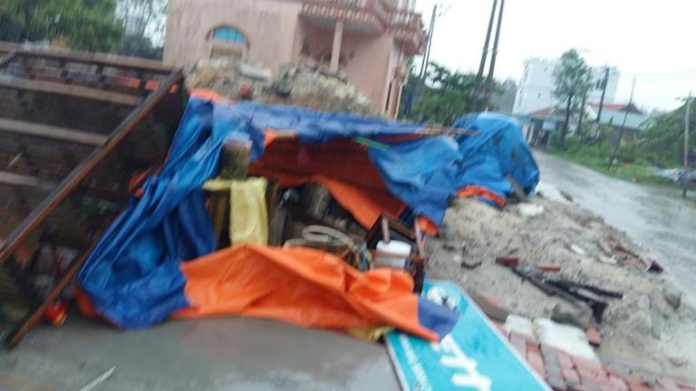 Quảng Ninh: Lốc xoáy bất ngờ tại đảo Minh Châu - ảnh 2