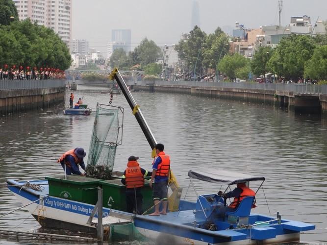 Bất ngờ với lượng cá chết hơn 70 tấn ở kênh Nhiêu Lộc - Thị Nghè - ảnh 1