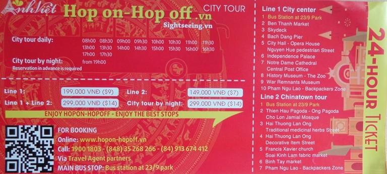 Mở tuyến xe buýt du lịch vòng quanh trung tâm Sài Gòn - ảnh 2