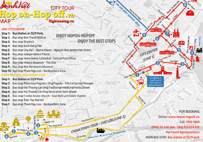 Mở tuyến xe buýt du lịch vòng quanh trung tâm Sài Gòn - ảnh 5