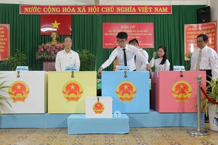 TP.HCM: Tỷ lệ cử tri đi bỏ phiếu đạt 99,36% - ảnh 2