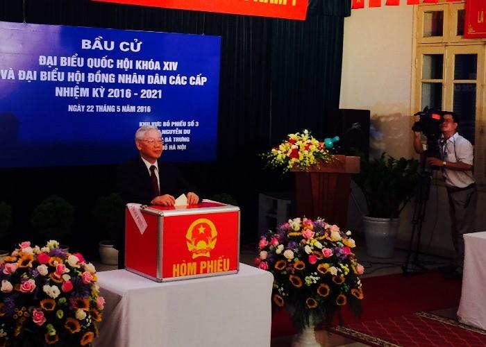 TBT Nguyễn Phú Trọng kỳ vọng các đại biểu hết lòng vì nước vì dân  - ảnh 1