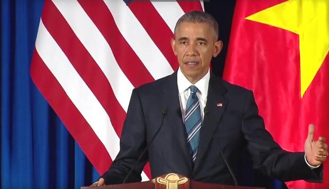 Tổng thống Obama công bố gỡ bỏ cấm vận vũ khí đối với Việt Nam  - ảnh 9