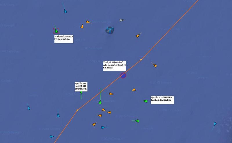 Thông tin cập nhật mới nhất về việc tìm kiếm cứu nạn CASA 212 - ảnh 12