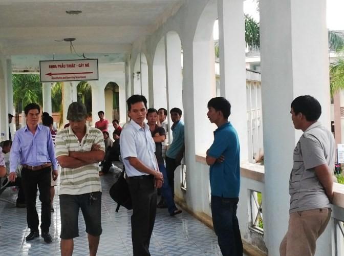 Đắk Nông: Bệnh nhân tử vong bất ngờ, người nhà vây bệnh viện - ảnh 1