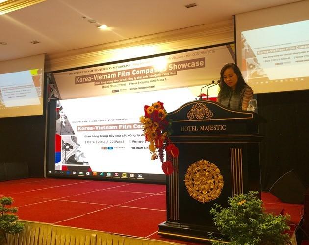 Diễn đàn điện ảnh Việt-Hàn tại TP.HCM - ảnh 1