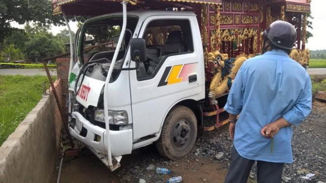 Khởi tố tài xế lái xe tang tông chết 3 người - ảnh 1