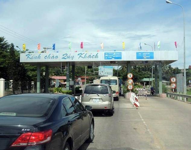 Trạm thu phí Phú Hài