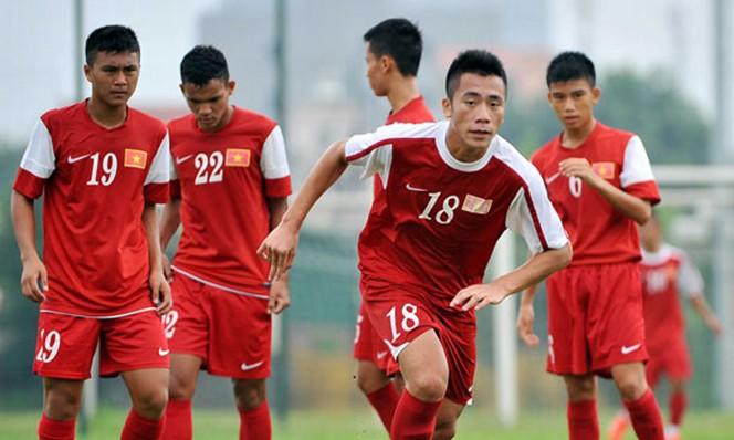 Các học trò ông Đinh Thế Nam đã sẵn sàng cùng sự tự tin của ban huấn luyện sẽ thắng chủ nhà Campuchia