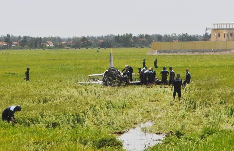 Máy bay quân sự rơi ở Phú Yên, một chiến sĩ hi sinh - ảnh 2
