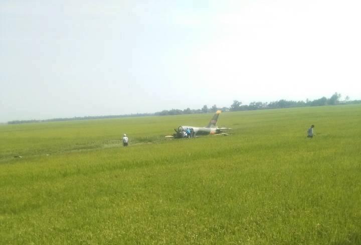 Máy bay quân sự rơi ở Phú Yên, một chiến sĩ hi sinh - ảnh 5