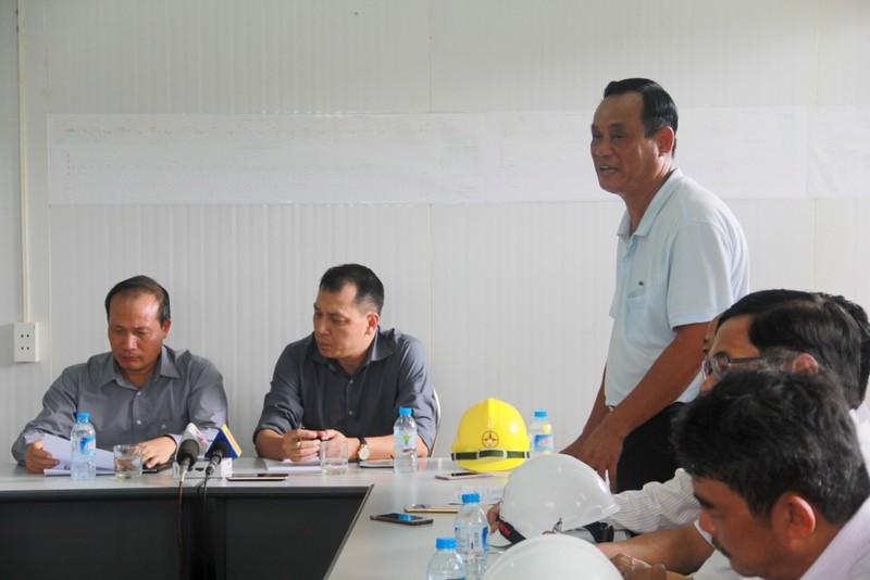 Ông Ngô Việt Hải, Tổng giám đốc Công ty phát điện 2. Ảnh Huy Trường