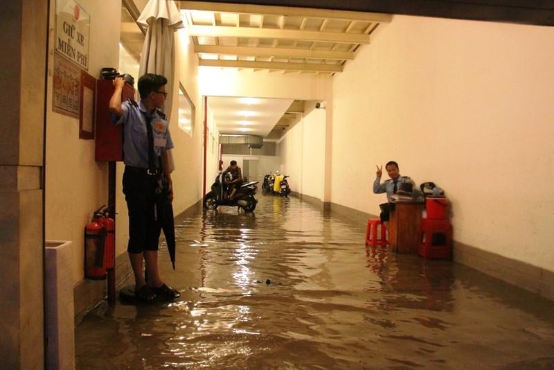 Chùm ảnh: Sân bay Tân Sơn Nhất bị biển nước vây quanh - ảnh 2