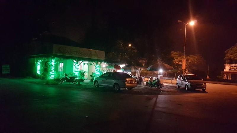 Quán cafe nơi bắt được Dũng