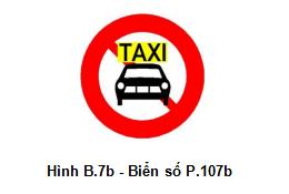 Cập nhật những biển cấm giao thông mới áp dụng từ 1-11 - ảnh 2