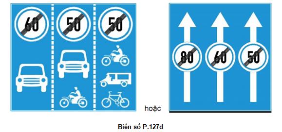 Cập nhật những biển cấm giao thông mới áp dụng từ 1-11 - ảnh 5