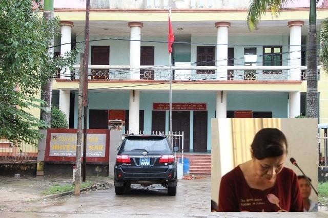 Bị cáo Trương Thị Hoa