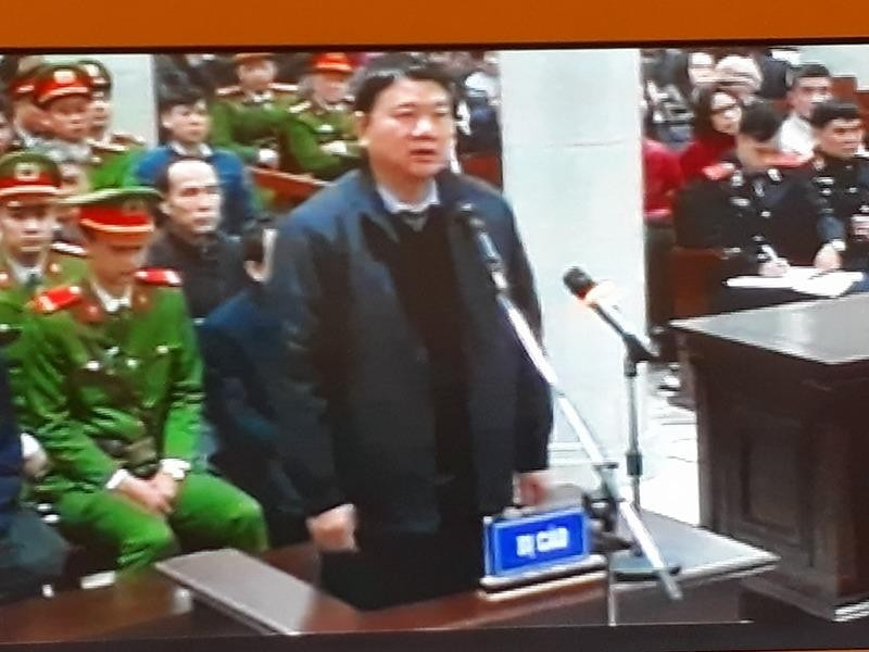 Ông Đinh La Thăng khai gì tại tòa?