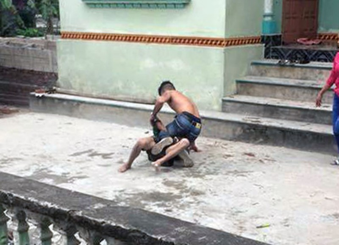 Sự thật vụ con trai đánh cha ở Hải Dương 'gây bão' trên Facebook - ảnh 2