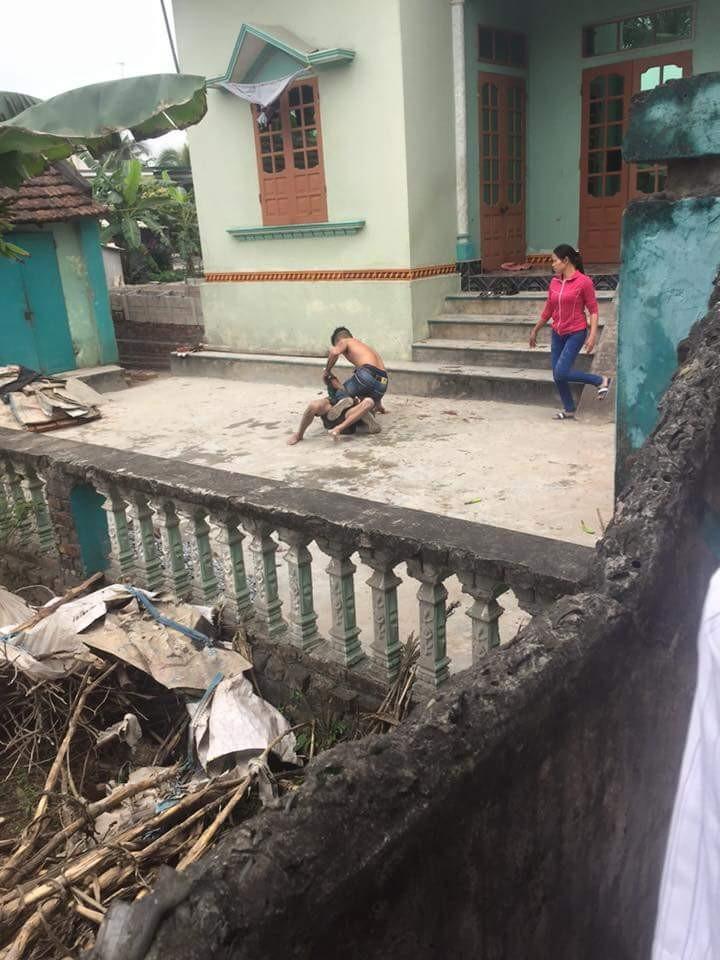 Sự thật vụ con trai đánh cha ở Hải Dương 'gây bão' trên Facebook - ảnh 1