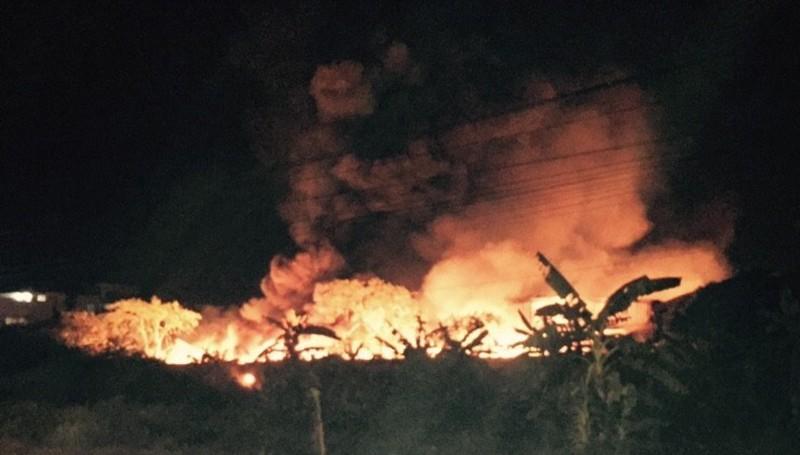Cháy lớn tại cụm công nghiệp ở Hải Phòng không thiệt hại về người - ảnh 7