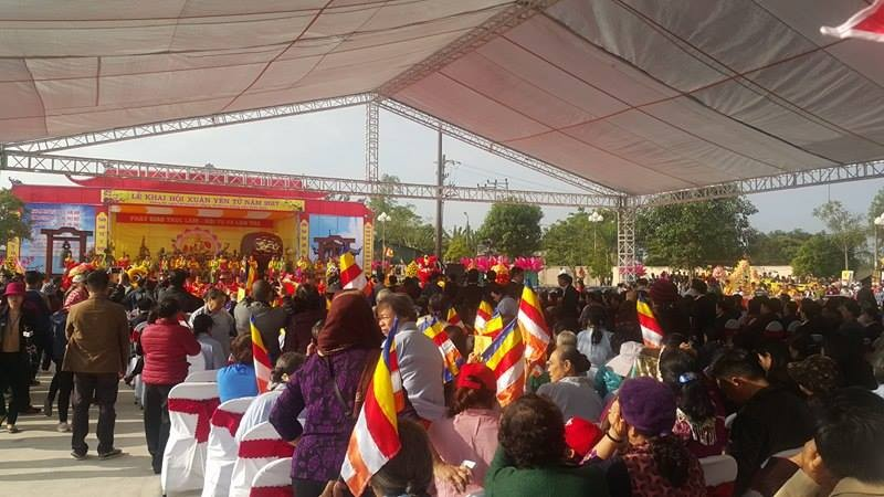Lễ hội khai xuân Yên Tử diễn ra trật tự, không chen lấn - ảnh 3