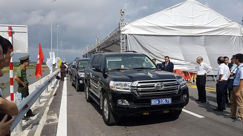 Thủ tướng dự lễ thông cầu vượt biển dài nhất Việt Nam - ảnh 2