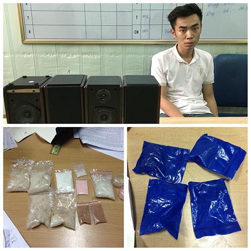 Bắt nghi phạm vận chuyển ma túy qua đường hàng không  - ảnh 1