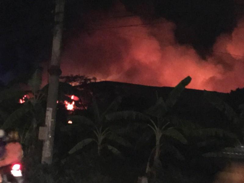 Cháy lớn tại cụm công nghiệp ở Hải Phòng không thiệt hại về người - ảnh 5