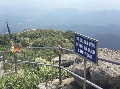 Khu vực nạn nhân rơi xuống đã được cảnh báo là khu vực nguy hiểm