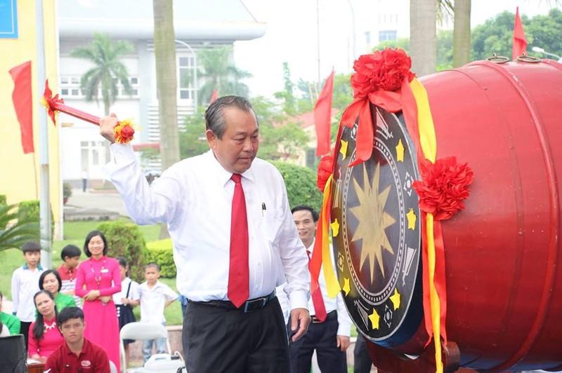 Phó thủ tướng phát động xây dựng văn hóa giao thông trong học sinh, sinh viên - ảnh 1