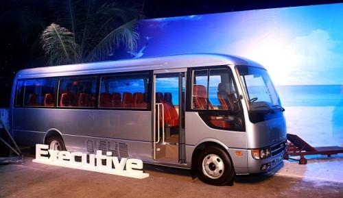 Mercedes-Benz tham gia thị phần xe buýt - ảnh 1