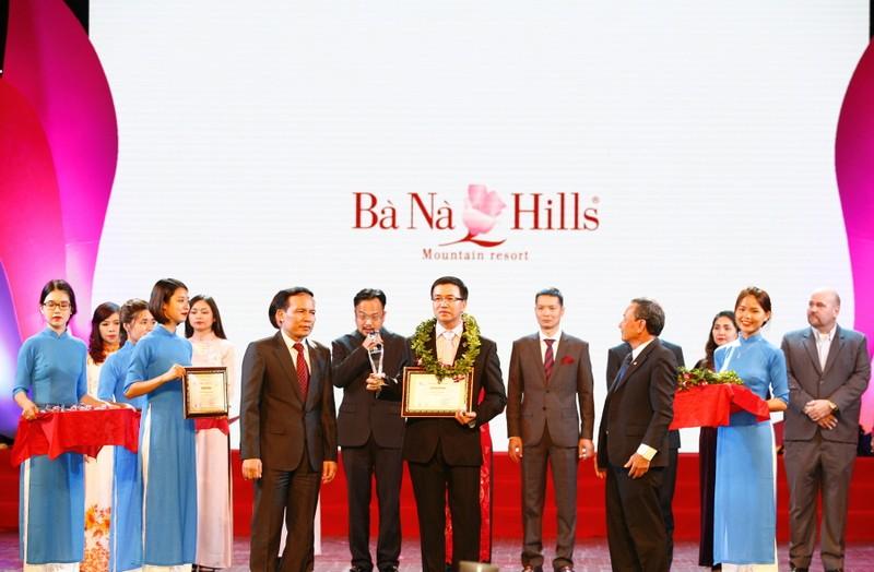 Bà Nà Hills nhận danh hiệu khu du lịch hàng đầu Việt Nam - ảnh 1