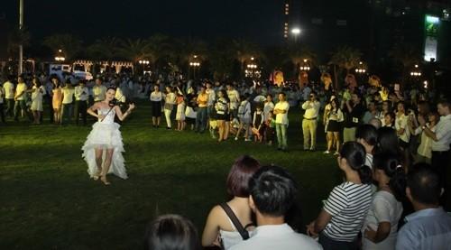 Đại nhạc hội hoành tráng đón chào công viên 'khủng' - ảnh 5