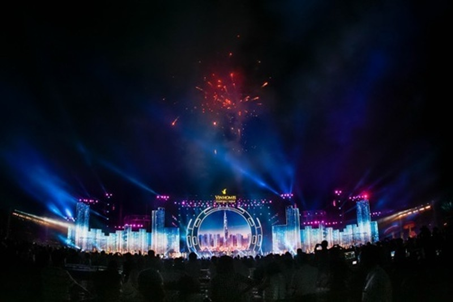 Đại nhạc hội hoành tráng đón chào công viên 'khủng' - ảnh 6