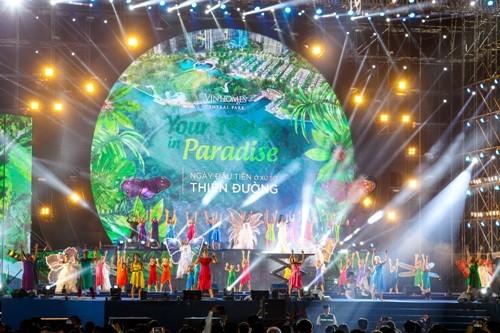 Đại nhạc hội hoành tráng đón chào công viên 'khủng' - ảnh 7