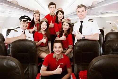 Vietjet tuyển dụng tiếp viên hàng không trên toàn quốc - ảnh 1
