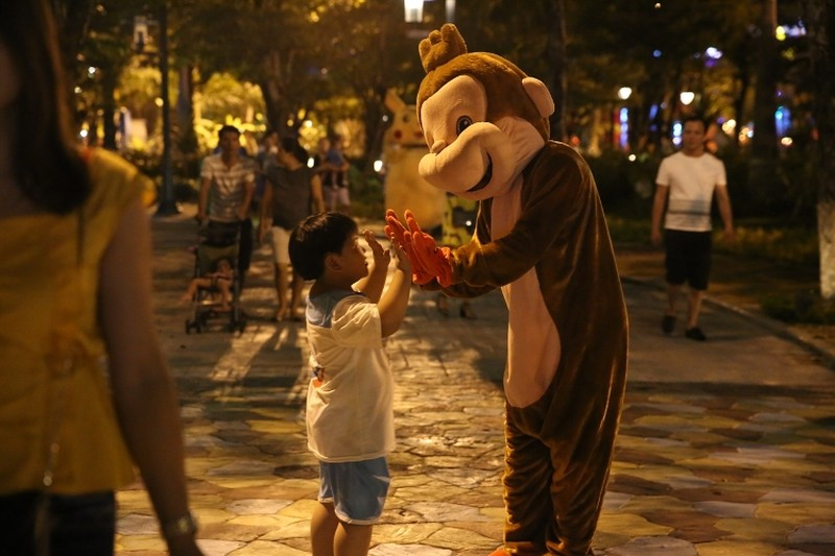 Khoảnh khắc không nên bỏ lỡ tại Lễ hội đèn lồng Asia Park - ảnh 5