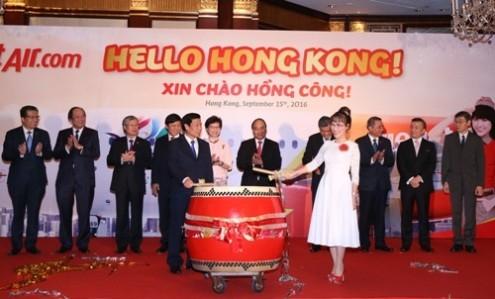 Vietjet mở đường bay TP.HCM - Hong Kong - ảnh 1
