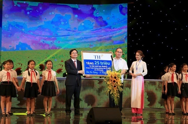 Sữa học đường- Vì tầm vóc Việt - ảnh 1