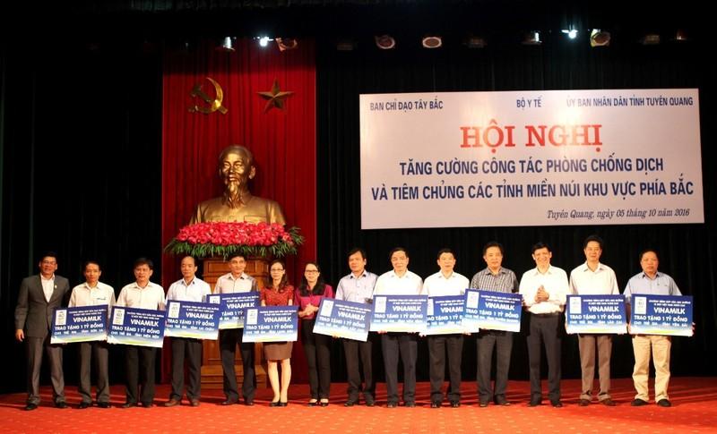 Phát động Sữa học đường tại tỉnh Tuyên Quang - ảnh 1