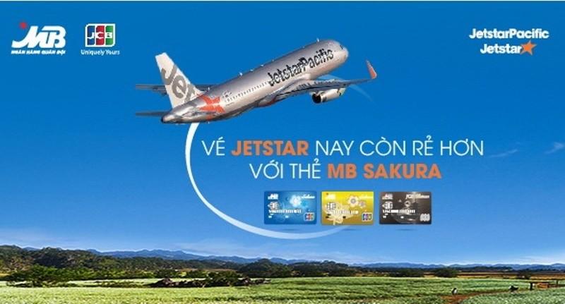 Thanh toán vé máy bay thẻ MB JCB được hoàn tiền - ảnh 1