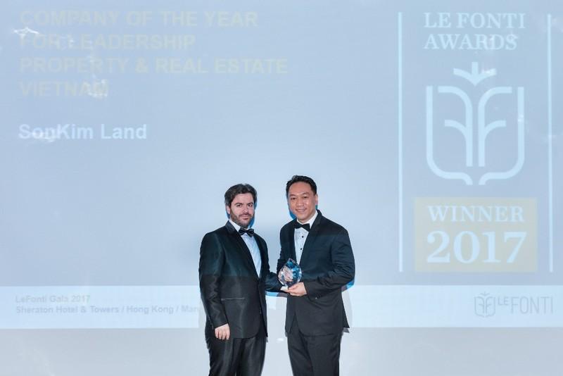 SonKim Land giành giải thưởng quốc tế IAIR 2016 - ảnh 1