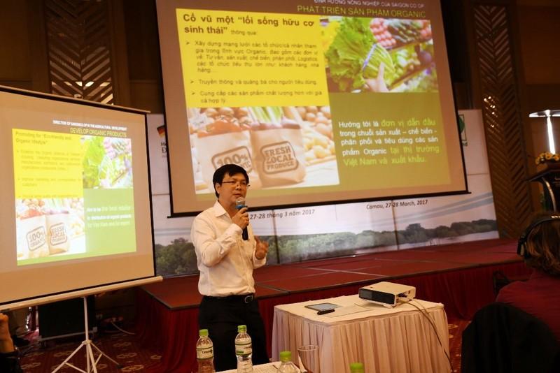 Saigon Co.op kết nối phát triển thực phẩm hữu cơ - ảnh 2