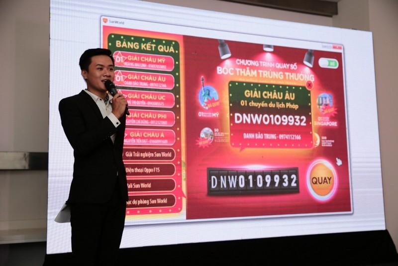 Du khách Sun World trúng các giải thưởng khủng - ảnh 1