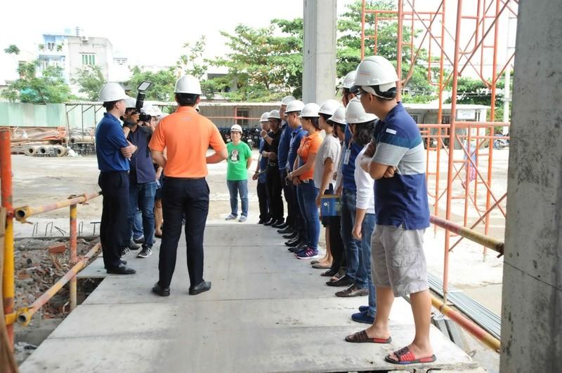 Khách hàng tham gia giám sát công trình Him Lam Phú An  - ảnh 2