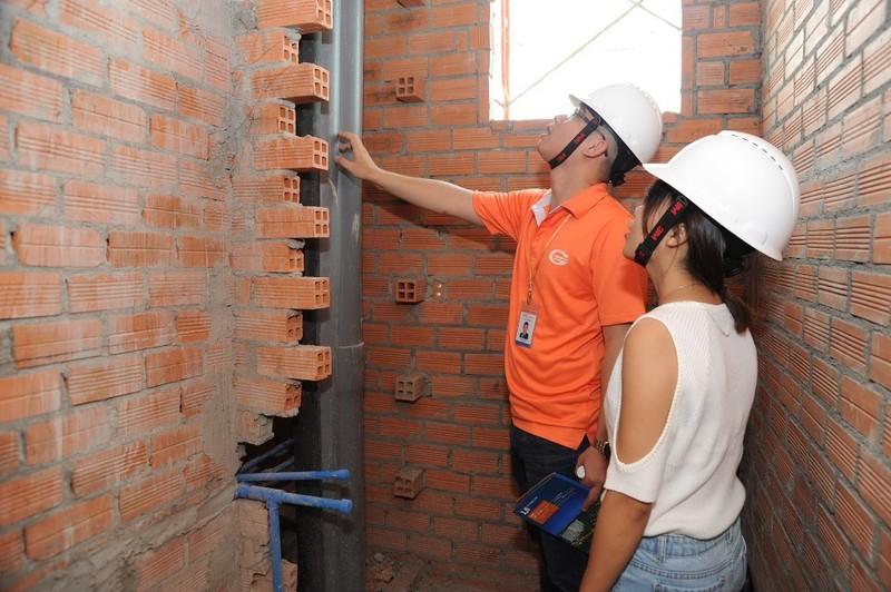 Khách hàng tham gia giám sát công trình Him Lam Phú An  - ảnh 4