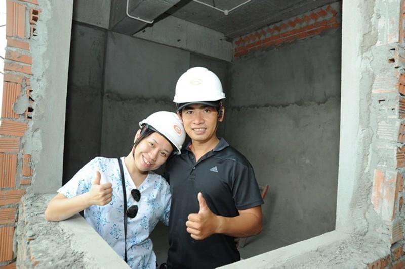 Khách hàng tham gia giám sát công trình Him Lam Phú An  - ảnh 5